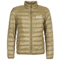 Kleidung Herren Daunenjacken Emporio Armani EA7 TRAIN CORE ID M DOWN LIGHT Braun