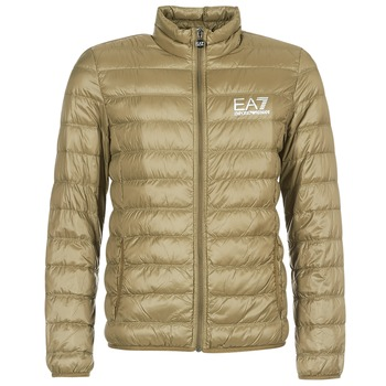 Kleidung Herren Daunenjacken Emporio Armani EA7 TRAIN CORE ID M DOWN LIGHT Braun
