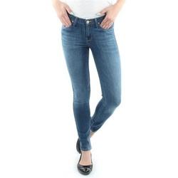 Kleidung Damen Röhrenjeans Lee Spodnie  Scarlett  Blue 526SVIX niebieski