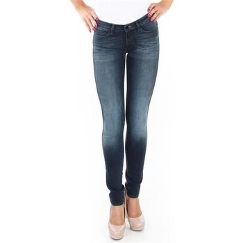 Kleidung Damen Röhrenjeans Wrangler Spodnie  Corynn W25FU453J blau