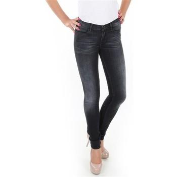 Kleidung Damen Röhrenjeans Wrangler Spodnie  Jaclyn W26DLI53K schwarz