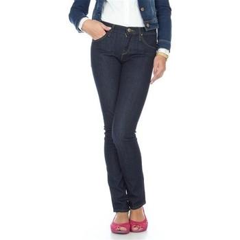 Kleidung Damen Slim Fit Jeans Lee Jade L331OGCX niebieski