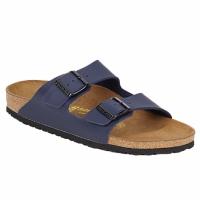 Schuhe Herren Pantoffel Birkenstock ARIZONA Blau