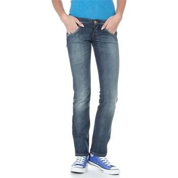 Kleidung Damen Straight Leg Jeans Lee Lynn L38418HD blau