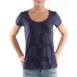 Kleidung Damen T-Shirts Lee T-Shirt  Scoop Mystic Plum 40KFL87 blau