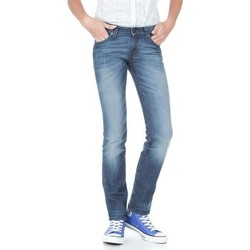 Kleidung Damen Slim Fit Jeans Lee Marlin L337AMPI niebieski