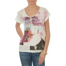 Kleidung Damen T-Shirts Lee Night T L485AUHA biały