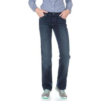 Kleidung Damen Straight Leg Jeans Wrangler Sara W212QC818 blau