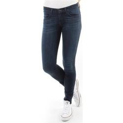 Kleidung Damen Röhrenjeans Wrangler Spodnie Damskie CORYNN BLUE SHELTER W25FU466N blau