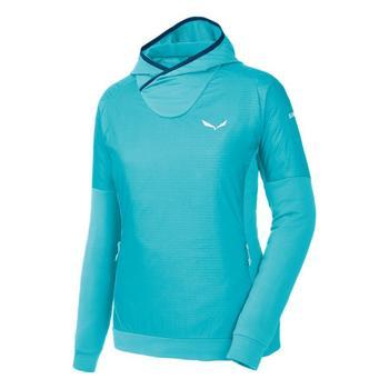 Kleidung Damen Fleecepullover Salewa Bluza  Pedroc PTC Alpha W Hoody 26355 niebieski