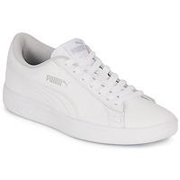 Schuhe Kinder Sneaker Low Puma SMASH V2 L JR Weiss