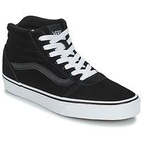Schuhe Kinder Sneaker Low Vans VWM WARD HI Schwarz