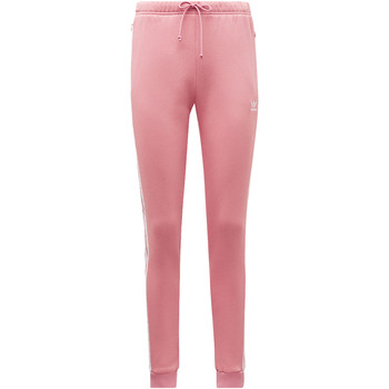 Kleidung Damen Jogginghosen adidas Originals Cuffed Trainingshose pink