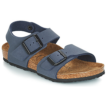 Schuhe Kinder Sandalen / Sandaletten Birkenstock NEW YORK Blau