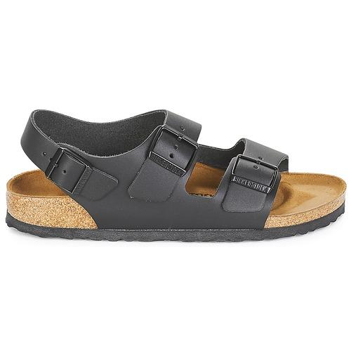 Birkenstock MILANO Schwarz  Schuhe Sandalen / Sandaletten Herren 71,99