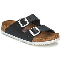Schuhe Herren Pantoffel Birkenstock ARIZONA SL Schwarz