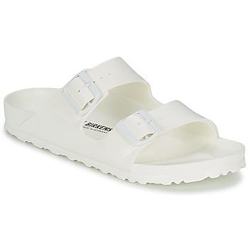 Schuhe Damen Pantoffel Birkenstock ARIZONA EVA Weiss