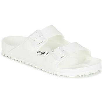 Schuhe Herren Pantoffel Birkenstock ARIZONA EVA Weiss