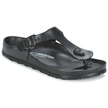Schuhe Damen Zehensandalen Birkenstock GIZEH EVA Schwarz