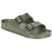Schuhe Herren Pantoffel Birkenstock ARIZONA EVA Kaki