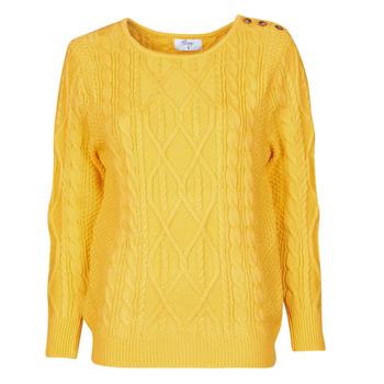 Kleidung Damen Pullover Betty London JEDRO Gelb