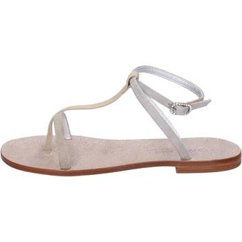 Schuhe Damen Sandalen / Sandaletten Eddy Daniele sandalen beige wildleder aw296 beige