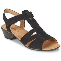 Schuhe Damen Sandalen / Sandaletten Gabor STEPHANIE Schwarz