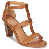 Schuhe Damen Sandalen / Sandaletten Tommy Hilfiger JOAN 7A Cognac