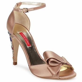 Schuhe Damen Sandalen / Sandaletten Charles Jourdan MANRAY Beige