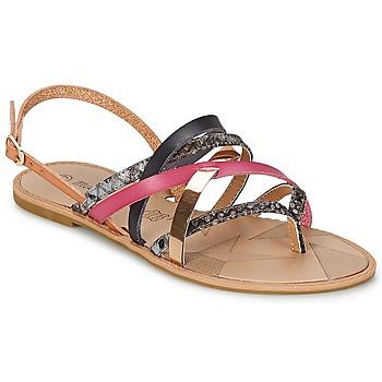 Schuhe Damen Sandalen / Sandaletten Moony Mood MADIROVILA Fuchsienrot