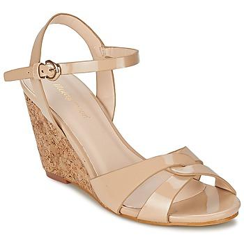 Schuhe Damen Sandalen / Sandaletten Moony Mood MAINTIRANA Beige