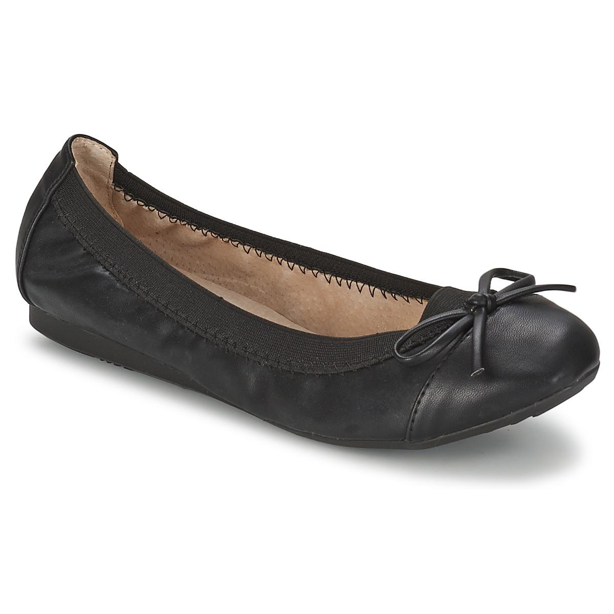 Moony Mood BOLALA Schwarz - Kostenloser Versand bei Spartoode ! - Schuhe Ballerinas Damen 22,39 €