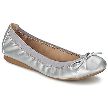 Schuhe Damen Ballerinas Moony Mood BOLALA Silbern