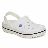Schuhe Pantoletten / Clogs Crocs CROCBAND Weiss