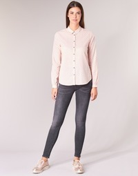 Kleidung Damen 5-Pocket-Hosen Scotch & Soda LA BOHEMIENNE Schwarz