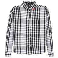 Kleidung Damen Hemden Maison Scotch FRINDA Schwarz / Weiss