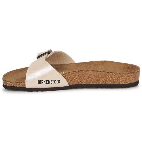 Birkenstock MADRID Creme Schuhe Pantoffel Damen 47,99