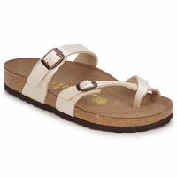 Schuhe Damen Pantoffel Birkenstock MAYARI Creme
