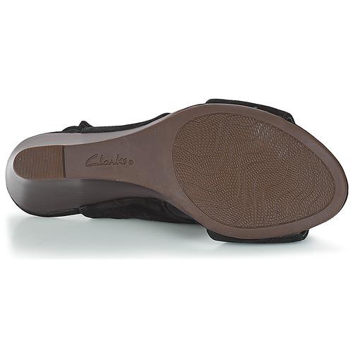 Clarks Raven Mist Schwarz Damen  Schuhe Sandalen / Sandaletten Damen Schwarz 87,20 1308b7