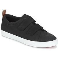 Schuhe Damen Sneaker Low Clarks Glove Daisy Schwarz