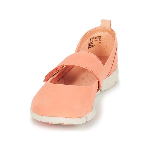 Clarks Tri Carrie Pink  Schuhe Damen Ballerinas Damen Schuhe 59,99 5d2913