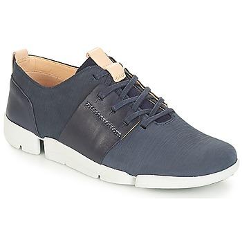 Schuhe Damen Sneaker Low Clarks Tri Caitlin Navy