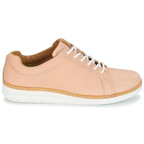 Clarks Amberlee Rosa Derby-Schuhe Beige  Schuhe Derby-Schuhe Rosa Damen 83,30 2a8b68