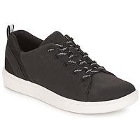 Schuhe Damen Sneaker Low Clarks Step Verve Lo. / Schwarz
