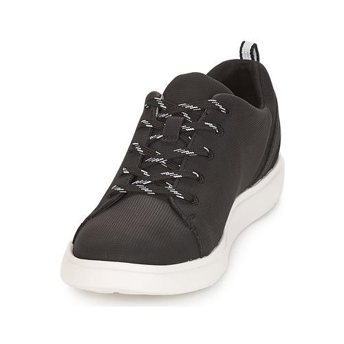 Clarks Step Verve Lo. / Schwarz  Schuhe Sneaker Low Damen 47,99