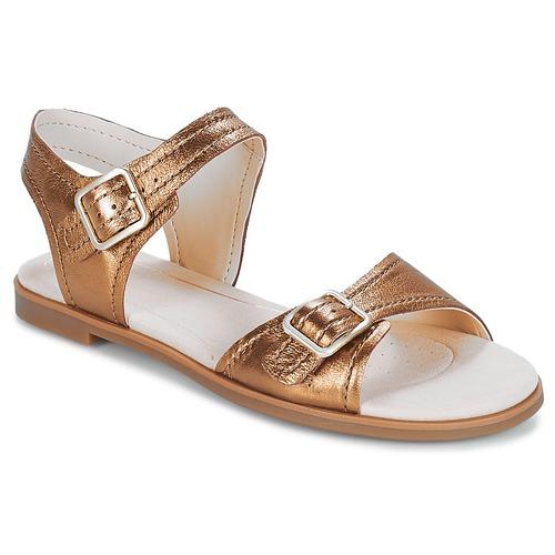 Clarks Bay Primrose / Bronze / Primrose Metallic  Schuhe Sandalen / Sandaletten Damen 47,99 deb570