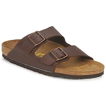 Schuhe Herren Pantoffel Birkenstock ARIZONA Braun