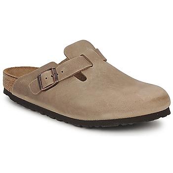 Schuhe Pantoletten / Clogs Birkenstock BOSTON PREMIUM Braun