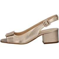 Schuhe Damen Sandalen / Sandaletten Mariano Ventre 5674S Sandale Frau Platin Platin