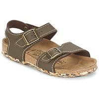 Schuhe Mädchen Sandalen / Sandaletten Birki's NEW YORK Braun